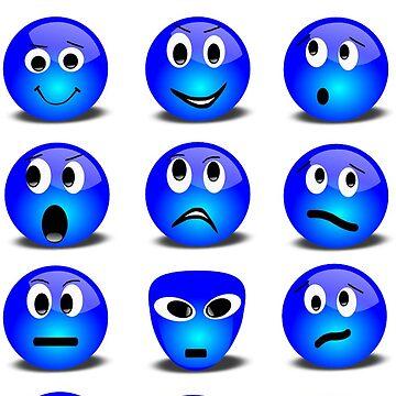 Emojis by Wallfower