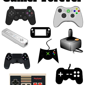 Gamer Forever Love Playing Video Games by RainyAZ