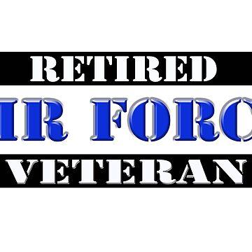 Retired Air Force Veteran by Buckwhite