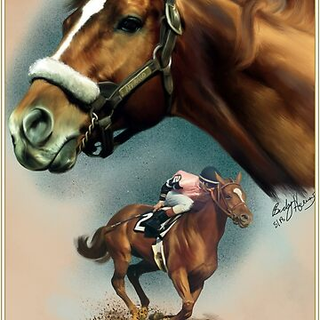 Affirmed with Name plate by BHDigitalArt