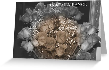 IN REMEMBRANCE....CARD by gypsykatz