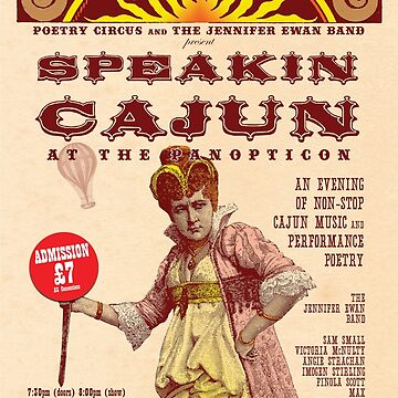 Speakin' Cajun at the Panopticon by Maxillus