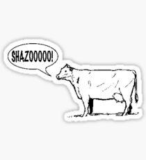 European Cows Sticker