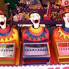 Carnival Clowns by Yvette Bell