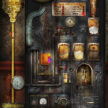 Steampunk - All that for a cup of coffee by mikesavad