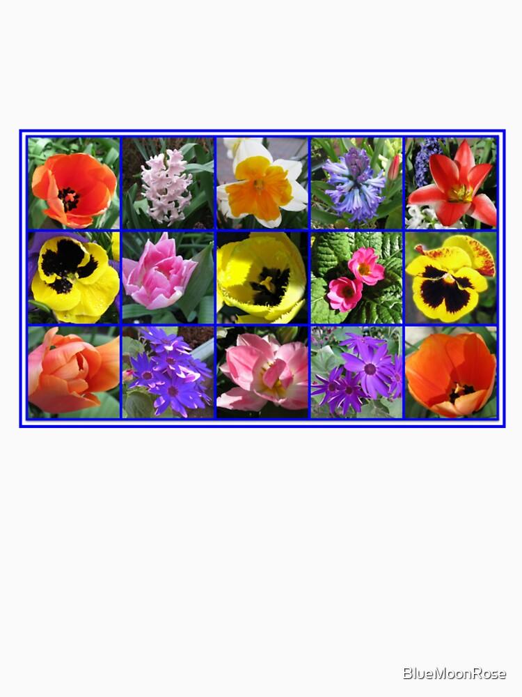 Blumen der Frühlings-Collage von BlueMoonRose