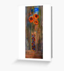 Marble Vase Greeting Card