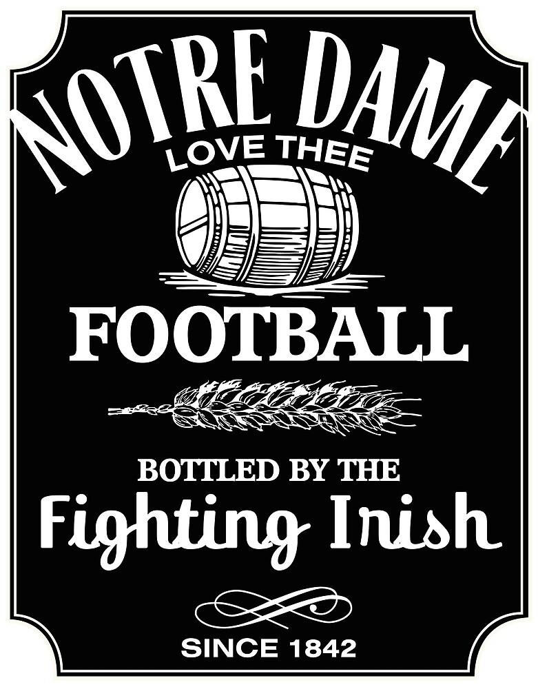 Notre Dame Fußball irisch von mackattak06