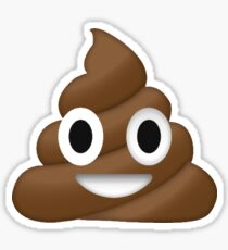 Poop Emoji Stickers Redbubble
