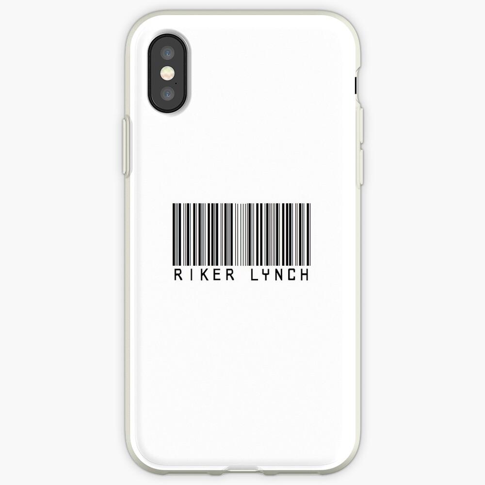 Riker Lynch Barcode Telefon Fall oder Aufkleber iPhone-Hülle & Cover