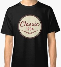 1934 Birthday Gift Vintage Classic 84th Birthday Present Classic T-Shirt
