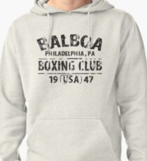 Balboa Boxing Club Rocky Movie Philly Retro Work Out Gym T-Shirts Pullover Hoodie