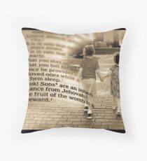 Children are a Gift Throw Pillow