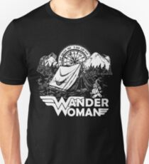 Wander Woman Gift for Queen Of The Camper T-shirt Unisex T-Shirt