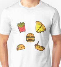 JunkFood Stickers Unisex T-Shirt
