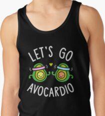 Lassen Sie Go Avocardio gehen Tanktop für Männer