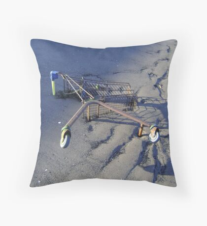 sea-change (turn of the tide) Throw Pillow