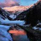 Lake Louise sunrise by Robyn Lakeman