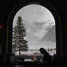 Lake Louise dining by Robyn Lakeman