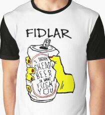 fidlar drink cheap beer Graphic T-Shirt