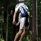 Flying Cyclist by Nando MacHado