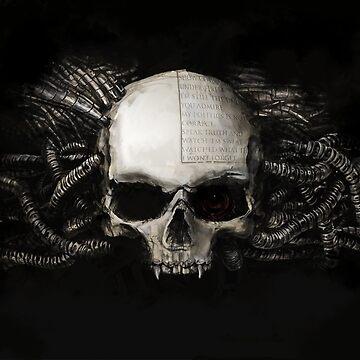 Servo Skull by LonelyWinters