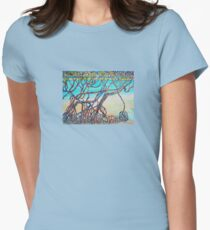 Town of 1770 Mangroves Womens Fitted T-Shirt