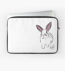 Graphic Art Rabbit 3 Laptop Sleeve