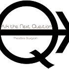 Ask the Next Question (black) by Etakeh