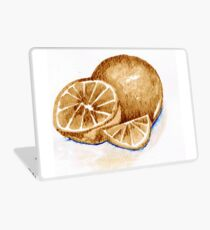 Oranges in autumn Laptop Skin