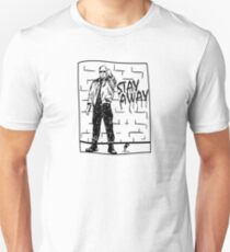 Skinhead Punk // STAY AWAY Unisex T-Shirt