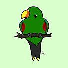 Eclectus Parrot (male) by Shukura