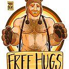 ADAM LIKES HUGS - BEAR PRIDE - GINGER EDITION by bobobear