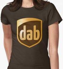 Dab Parcel Service  Women's Fitted T-Shirt