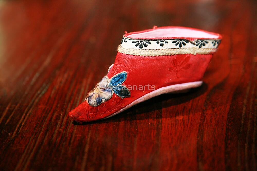 Traditional Chinese shoe by Dentanarts