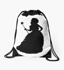 Alaska Silouettes Drawstring Bag