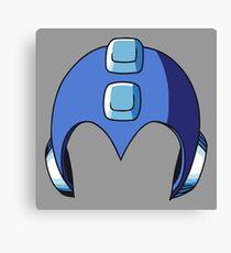 Mega Man Helmet Canvas Print