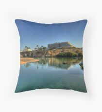 Crowne Plaza at Qurum Beach Throw Pillow