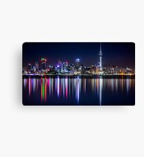 New Zealand Skyline Canvas Print
