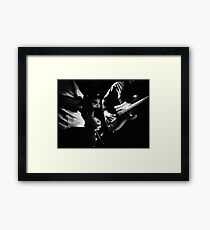 Of the heart and the emotion Framed Print