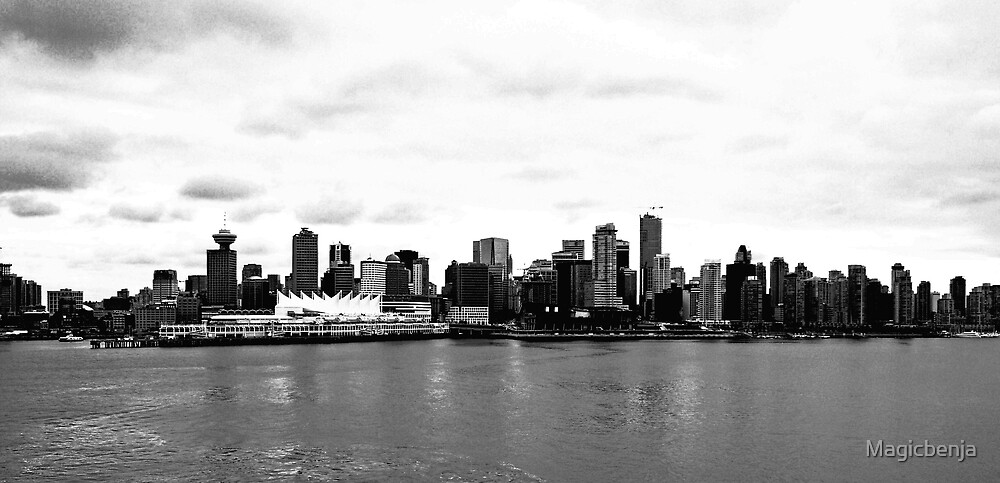 Vancouver Skyline by Magicbenja
