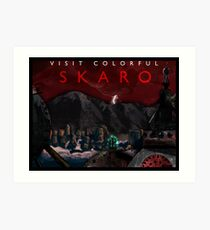 Visit Colorful Skaro Art Print