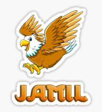 Jamil Eagle Sticker Sticker