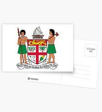 Coat of Arms of Fiji Postcards