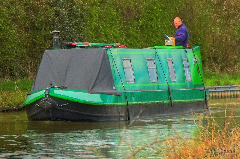 Radio Controlled Narrowboat by SimplyScene