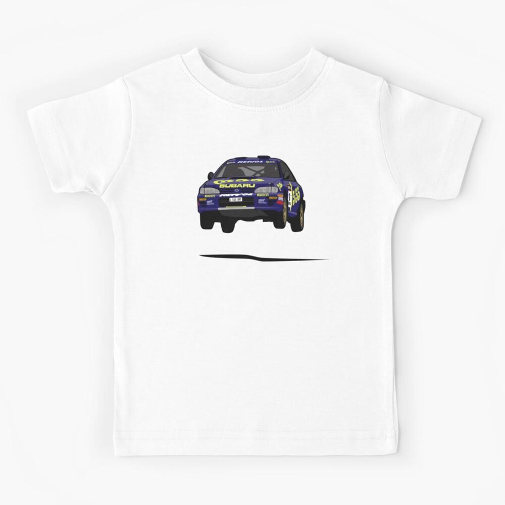 Colin McRae 555 Subaru Impreza Kids T-Shirt