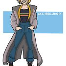 Doctor Who - The Thirteenth Doctor - Oh Brilliant! by PaulGCornish