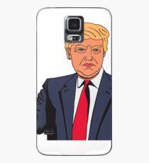 Donald Trump Mr. President Geschenkidee Hülle & Klebefolie für Samsung Galaxy
