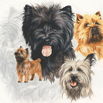 Cairn Terrier Medley by BarbBarcikKeith