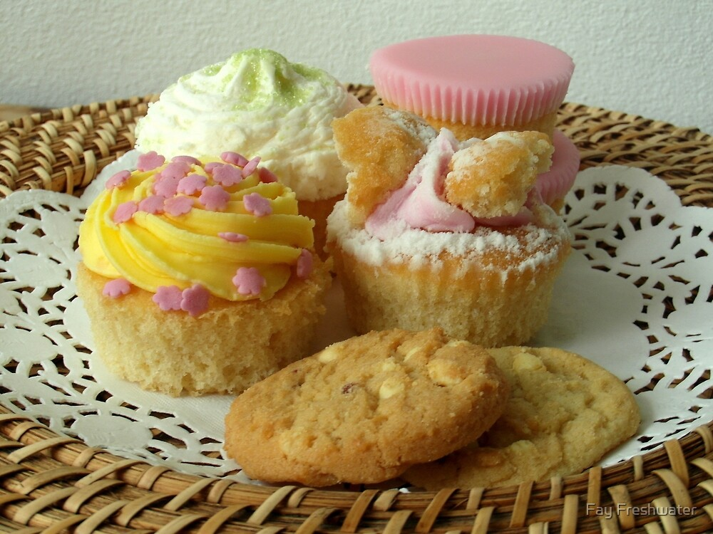 Fancy a cupcake? by Fay Freshwater